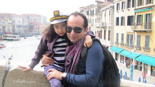 عکس مازیار میری و دخترش ری را + بیوگرافی