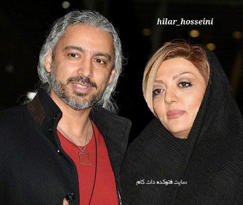 عکس مازیار فلاحی و همسرش عسل قربانی