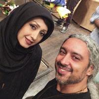 مازیار فلاحی و همسرش عسل قربانی + بیوگرافی و دخترش باران