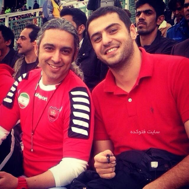 مازیار فلاحی و علی ضیا پرسپولیسی