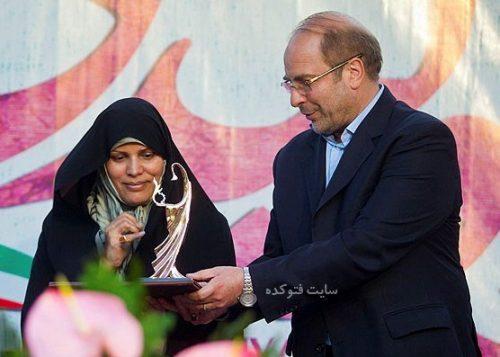 عکس محمدباقر قالیباف و همسرش زهرا مشیر + بیوگرافی کامل