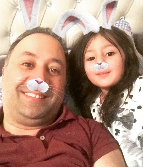 محمد دلاوری خبرنگار و دخترش + بیوگرافی کامل
