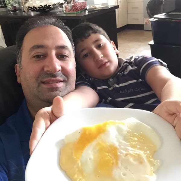 محمد دلاوری و پسر + زندگی شخصی و خبرنگاری