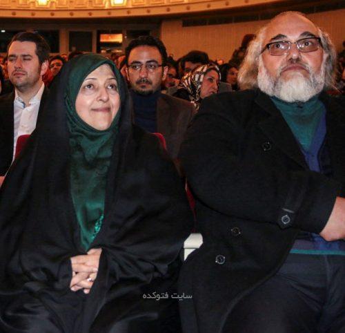 معصومه ابتکار و همسرش سید محمد هاشمی