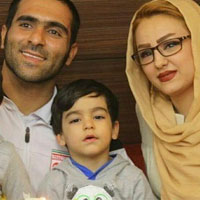مهدی کیانی و همسرش + زندگی شخصی ورزشی