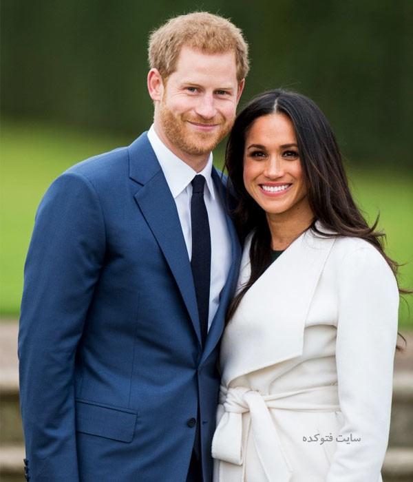 مگان مارکل و همسرش پرنس هری + بیوگرافی کامل