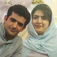 مهدی شاه حسینی و همسرش + زندگی و خندوانه