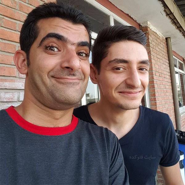 مهدی شاه حسینی خندوانه و دانیال غفارزاده + زندگی شخصی