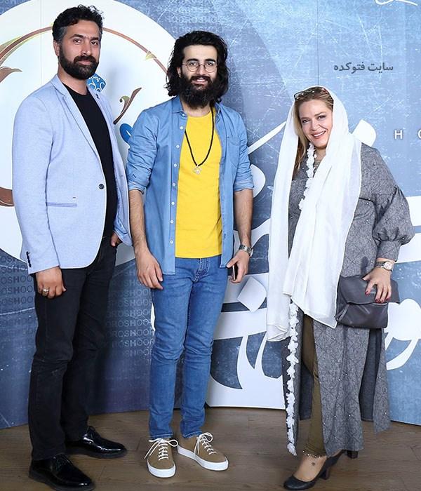 عکس بهاره رهنما و همسرش + مهدی دارابی