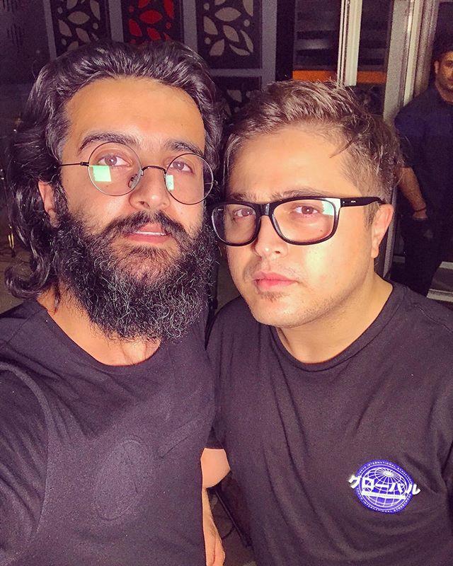 عکسمهدی دارابی و مسعود جهانی