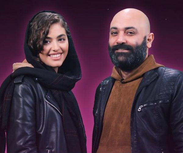 عکس جدید مهدی کوشکی و همسرش ریحانه پارسا و خبر طلاق