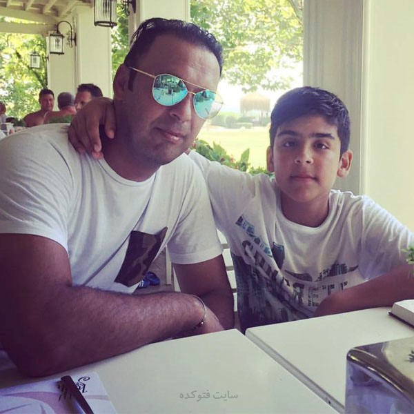 مهدی پاشازاده و پسرش + زندگی شخصی