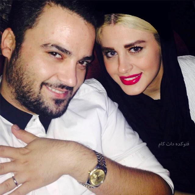 Mehdi Solooki و زنش
