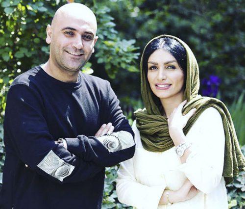 صحر فتحی و همسرش مهدی کوشکی
