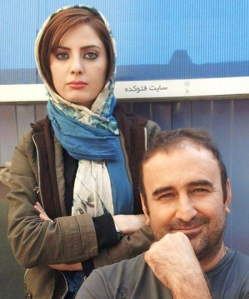 مهران احمدی و همسرش