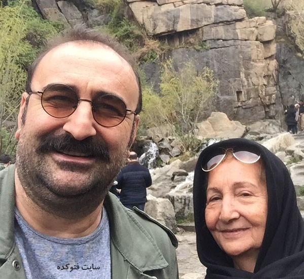 عکس های مهران احمدی در کار مادرش + بیوگرافی کامل