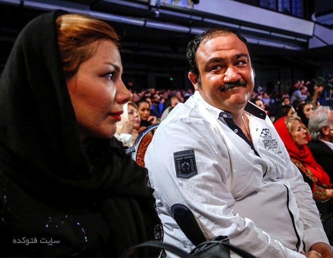 مهران غفوریان و همسرش آرزو با عکس جدید