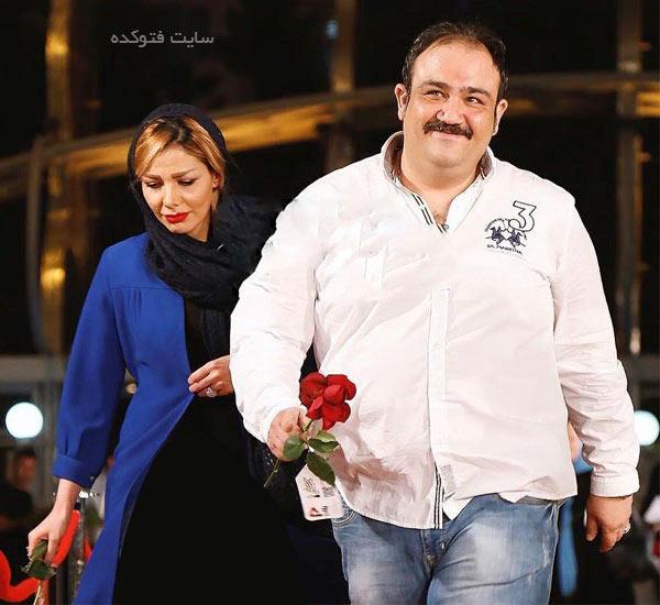 عکس مهران غفوریان و همسرش + بیوگرافی کامل