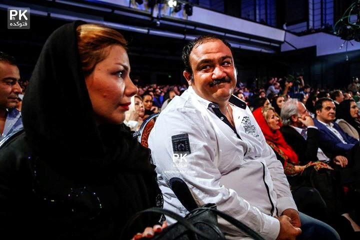 عکس مهران غفوریان و همسرش آرزو