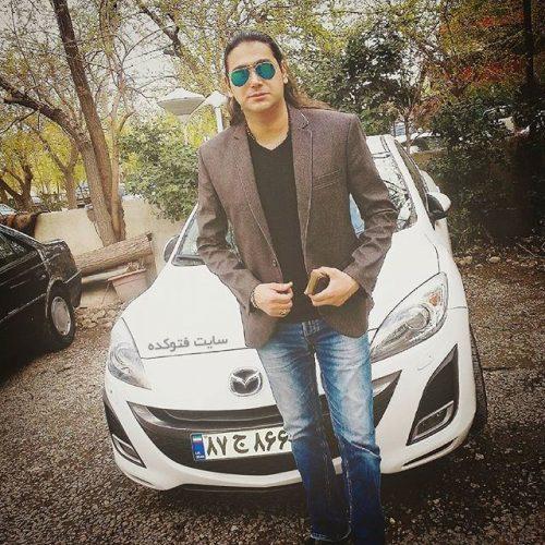 عکس مهران مستی و ماشینش