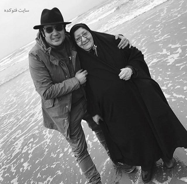 عکس مهران رنجبر و مادرش + خانواده و زندگی شخصی بیوگرافی