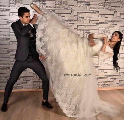 عکس ازدواج مهران عسکری و نور تاتار + بیوگرافی