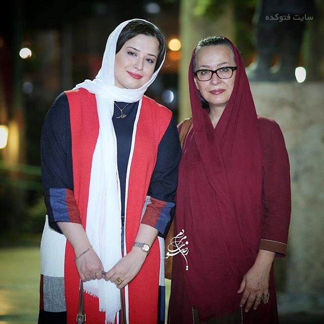 عکس مهراوه شریفی نیا و مادرش آزیتا حاجیان