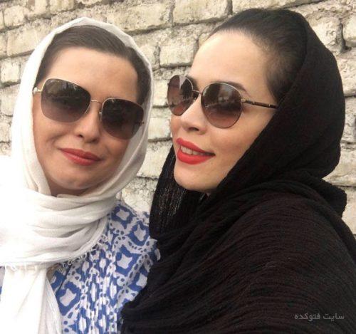 عکس مهراوه شریفی نیما و خواهرش ملیکا شریفی نیا