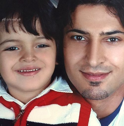 عکس مهرداد میناوند و پسرش آریا