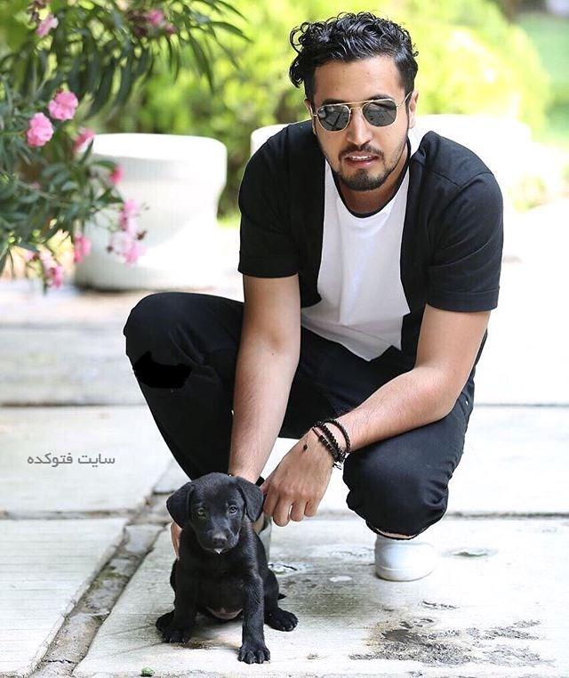 عکس مهرداد صدیقیان + سگ خانگی اش + زندگینامه کامل