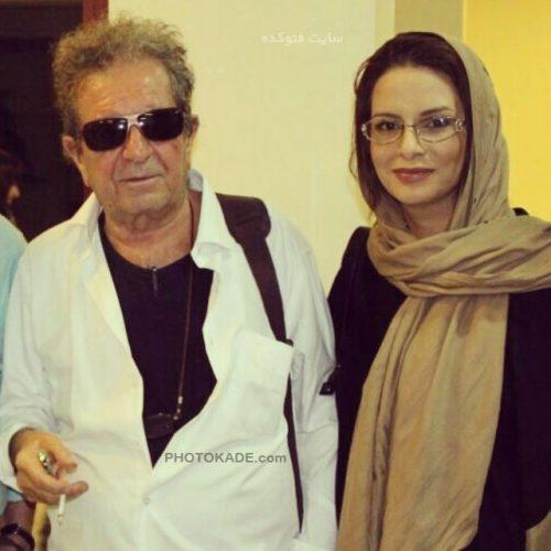 عکس داریوش مهرجویی و همسرش وحیده محمدی فر