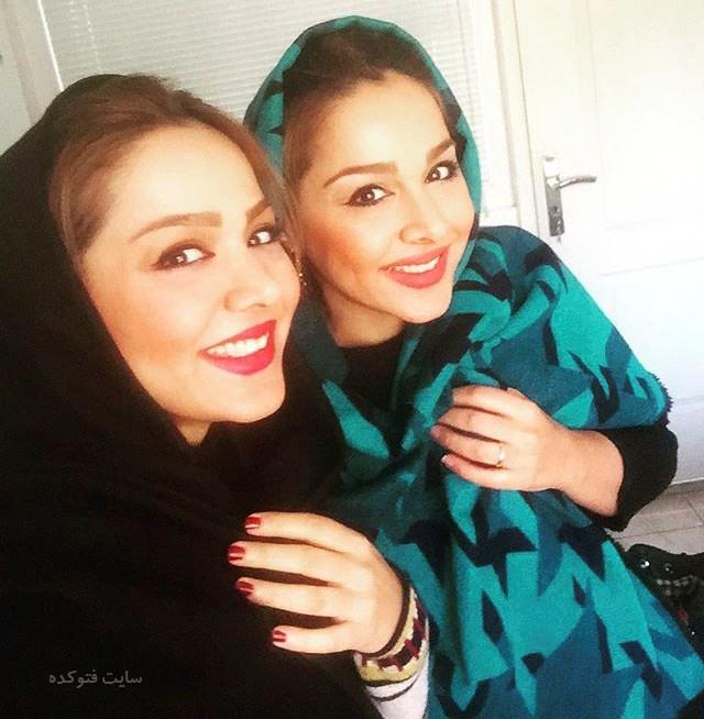 عکس مهرناز دبیرزاده و خواهر فرناز دبیرزاده + زندگینامه