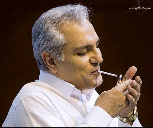 سیگار کشیدن مهران مدیری