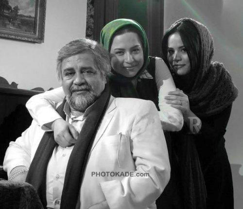 ملیکا شریفی نیا + مهراوه شریفی نیا + پدر محمدرضا شریفی نیا