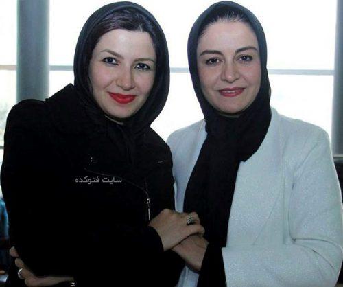 ملیکا زارعی و خواهرش مریلا زارعی