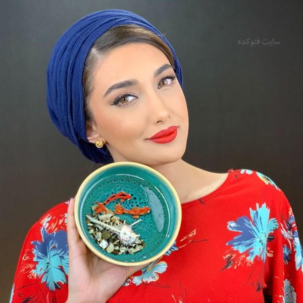 عکس و بیوگرافی ملینا تاج بیتونی بلاگر