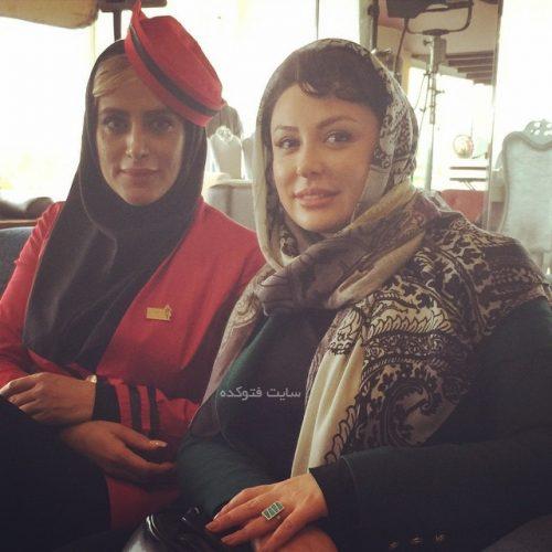 عکس ملیسا مهربان در کنار نیوشا ضیغمی