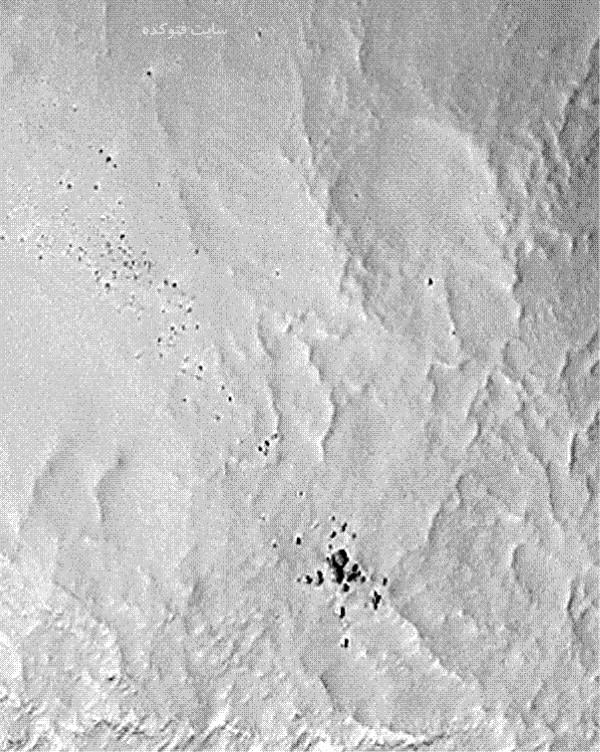 عکس حقایق جدید کشف شده از سیاره مریخ