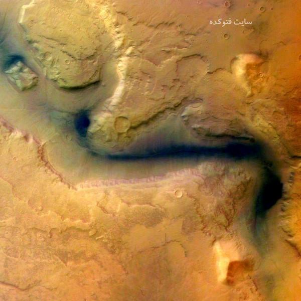 عکس های جنجالی از وجود آب در سیاره مریخ