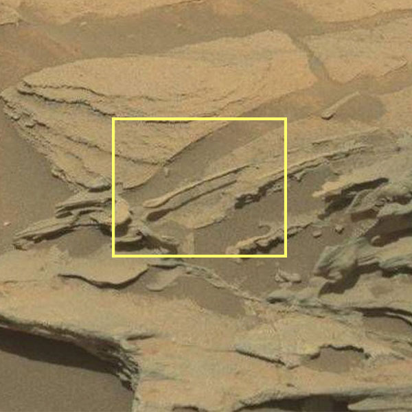 قاشق معلق در مریخ