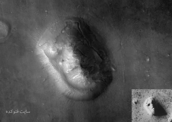 کشف صورت مریخی
