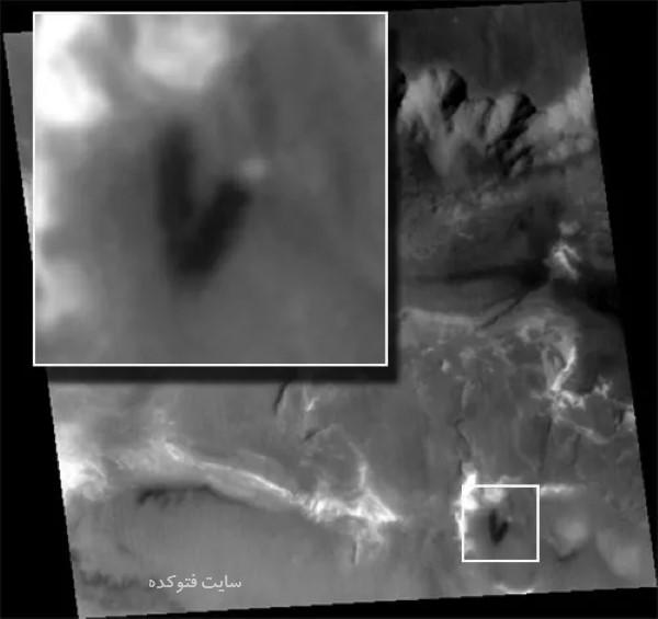 عکس های جنجالی از وجود برج مسکونی در سیاره مریخ