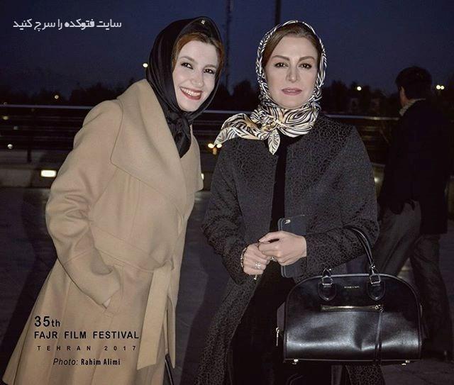 عکس مریلا زارعی و خواهرش ملیکا معروف به خاله شادونه + بیوگرافی