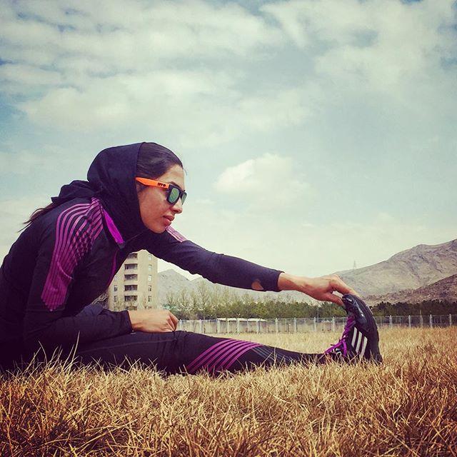 عکس مریم طوسی ورزشکار دوومیدانی + زندگی شخصی