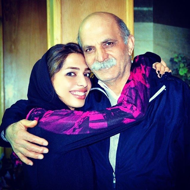 عکس مریم طوسی و پدرش + زندگینامه شخصی و ورزشی
