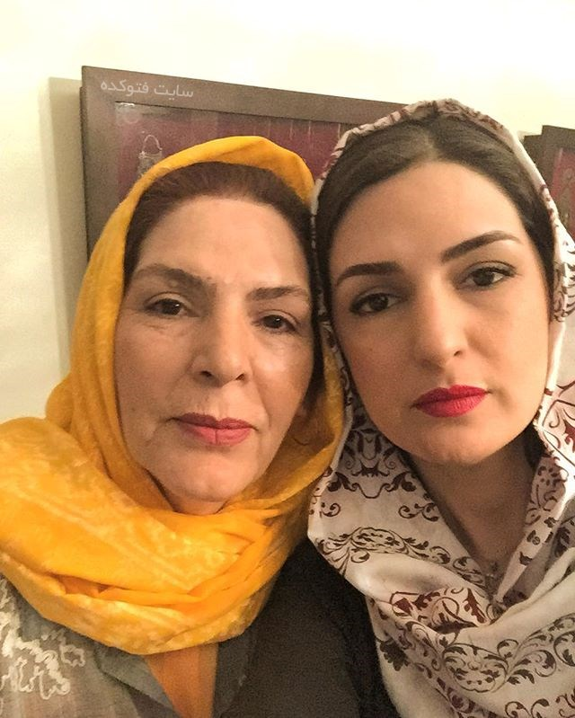 مریم شیرازی و مادرش