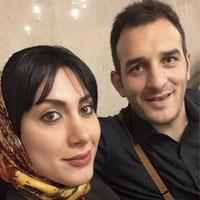 میثم درویشان پور و همسرش لیدا + زندگی شخصی