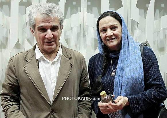 عکس مهدی هاشمی در کنار همسر گلاب آدینه + بیوگرافی