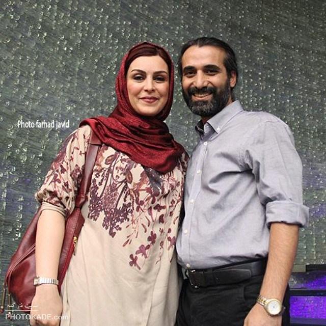 ماه چهره خلیلی و همسرش ابراهیم اشراقی