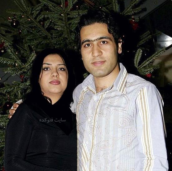 عکس مهدی مهدوی کیا و همسرش سپیده قنبری + بیوگرافی